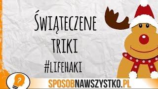 Świąteczne Triki na Boże Narodzenie - Lifehaki