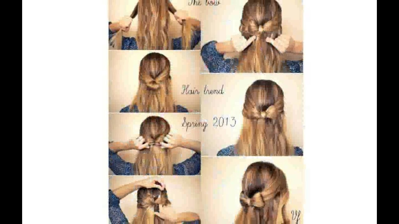 Acconciature semplici fai da te capelli corti