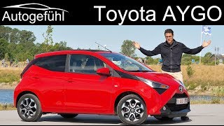 Toyota Aygo FULL REVIEW Facelift 2018 2019 - Autogefühl