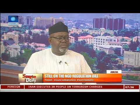 NGO Bill Will Weaken Nigeria's Democracy - Fmr Lawmaker |Sunrise Daily|