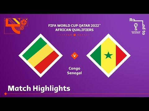 Congo Senegal Goals And Highlights