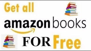 How to download paid books for free from Amazon or from