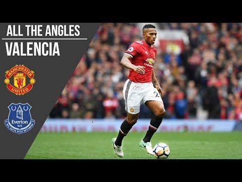 Antonio Valencia V Everton Goal | All The Angles | Manchester United