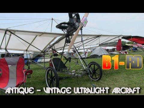 B1-RD, Robertson B1RD Vintage Antique Ultralight Aircraft.
