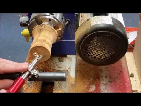 Woodturning - Lets practice Spiralling texturing tool together!