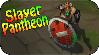 Slayer Pantheon - Skin Spotlight - Skin Vergleich