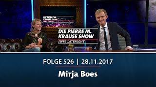 Die Pierre M. Krause Show vom 28.11.2017 mit Mirja Boes