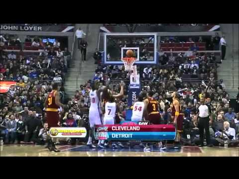 Rookie Brandon Knight complete highlights 23 pts vs Cleveland Cavalier 12/28/2011