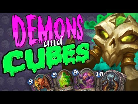 MIXING 2 DECKS TOGETHER - Demon/Cube Lock - Kobolds And Catacombs - Warlock Constructed