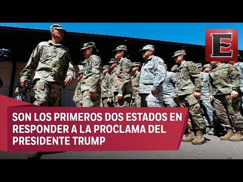 Arizona y Texas envían más efectivos de la Guardia Nacional a la frontera con México