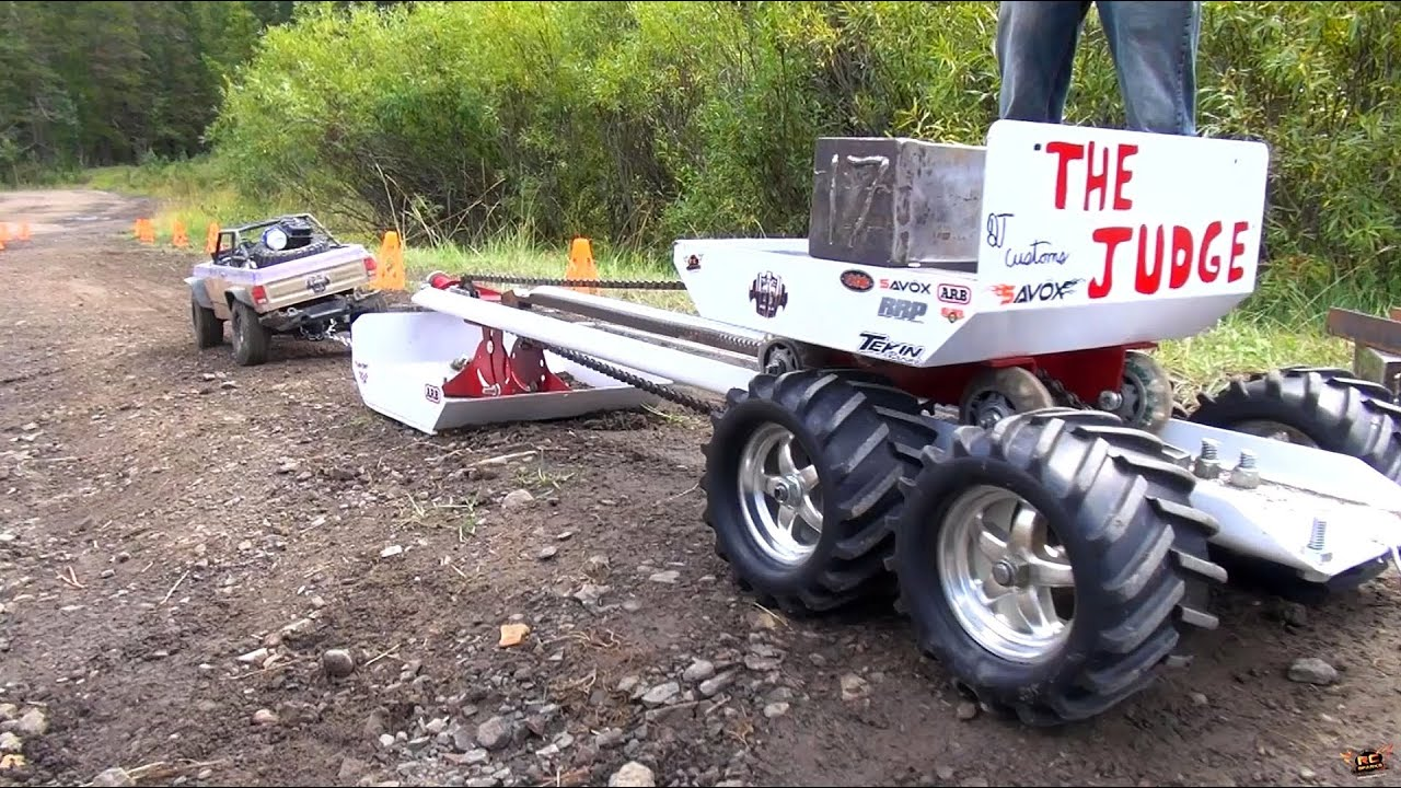 Rc adventures ttc 2013 sled pull weight pull 4x4 tough truck challenge youtube