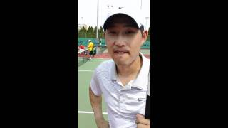 Henry Choi Interview after Odlum Brown Richmond Win 2011 This Past weekend