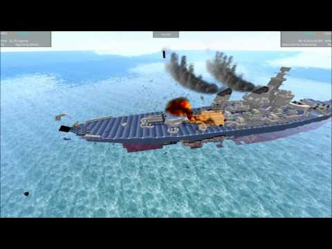 From The Depths Tournament Battleship Brawl S3E07 BB 64 Wisconsin vs Ngome