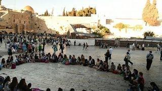 Prière collective à Jerusalem pour la libération des Israéliens