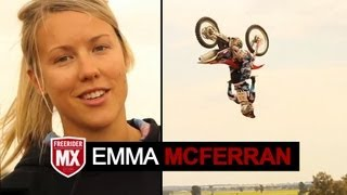 Emma McFerran Backflip | Presented by FreeriderMX Magazine