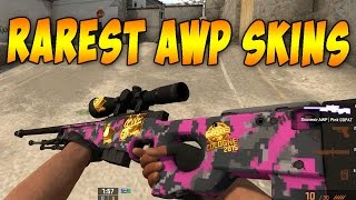 ACTUAL Top 10 Rarest AWP Skins for CS:GO