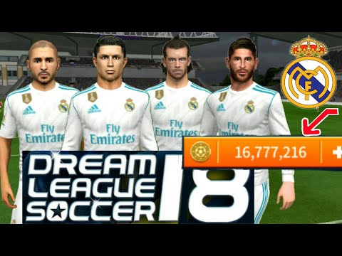 How To Create Real Madrid Team ★ Kit Logo & Players ★ Dream League Soccer 2018.