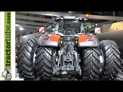 Agritechnica 2013: Massey Ferguson stellt die neue 8700-er Serie auf der Messe vor