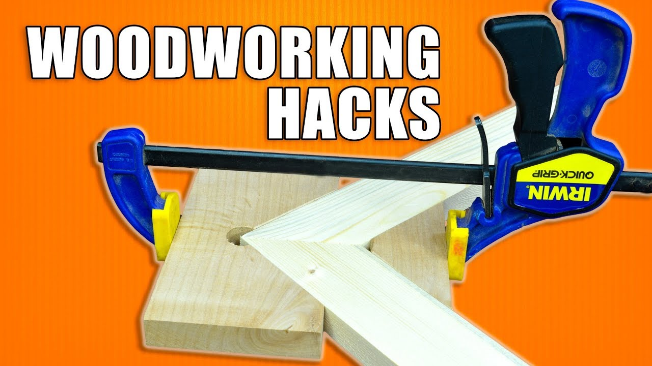 Woodworking Tips and Tricks / 5 Hacks for Clamps - YouTube