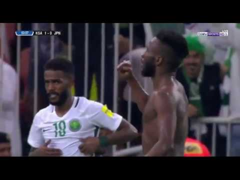 هدف فهد المولد على اليابان بتعليق رؤوف خليف | السعوديه واليابان 1-0 - تصفيات كاس العالم 2018