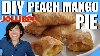 DIY Jollibee PEACH MANGO PIE - deep fried