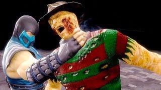 Mortal Kombat 9 - All Fatalities & X-Rays on Freddy Krueger Costume 2 4K Ultra HD Gameplay Mods
