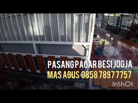 Pasang Pagar Besi & Grc Serat Kayu Yogyakarta 0858 7897 7757