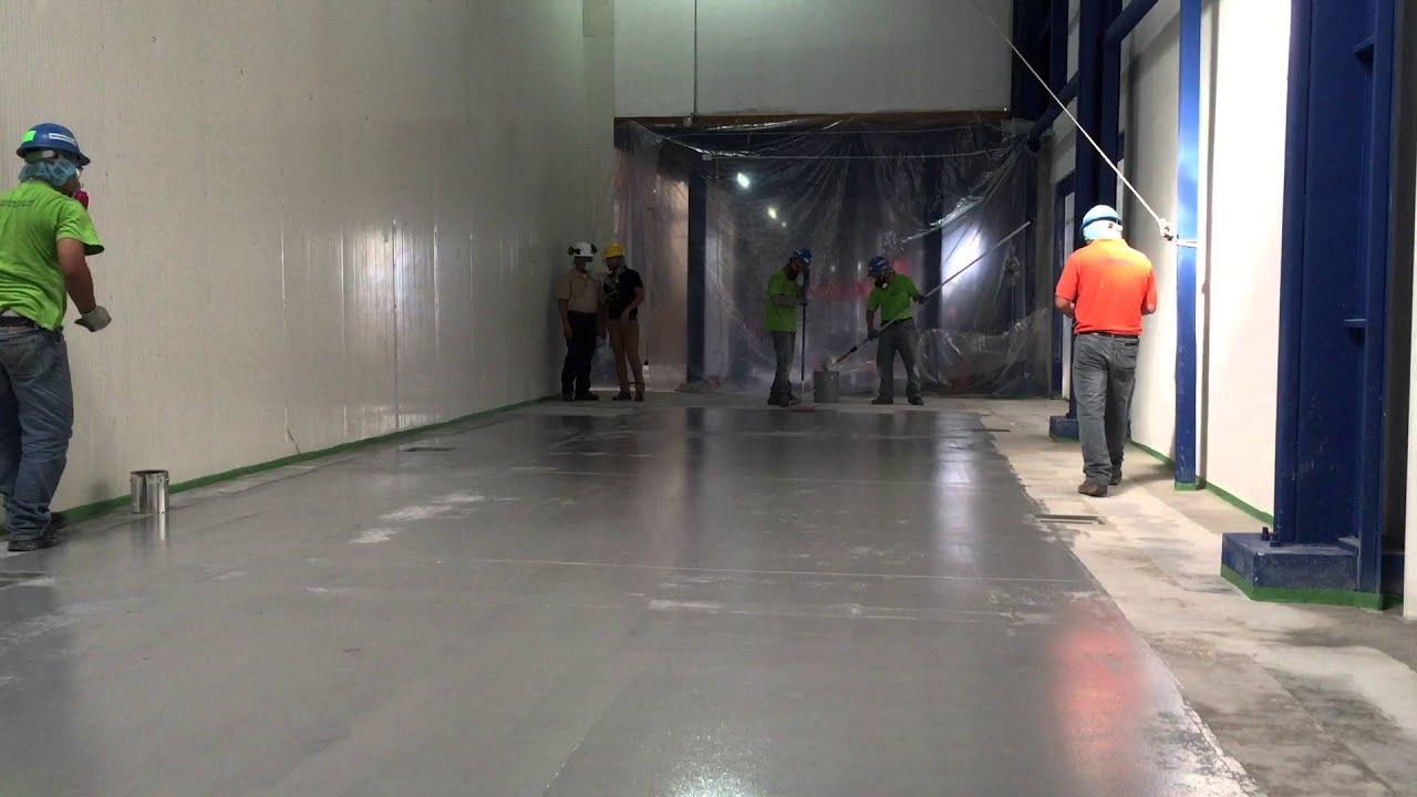 pisos epoxico aplicacion de pintura epoxica para pisos
