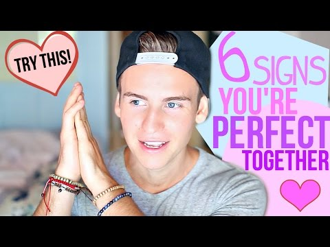 6 Signs Your Crush Is Perfect For You!