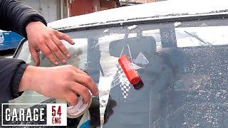 Firecrackers VS windshield