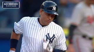 BAL@NYY: Rodriguez crushes career home run No. 696
