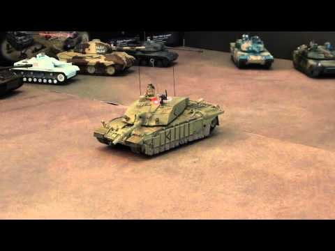 RC IR full battle Challenger II 1/72
