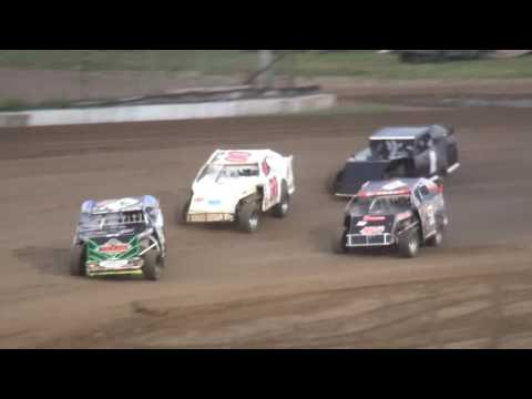 IMCA Sport Mod Championship feature Independence Motor Speedway 8/27/16