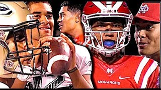 🔥🎬 Mater Dei v St. John Bosco | Top 2 Teams in Cali - 'The Rematch' CIFSS D1 Championship Game 2017