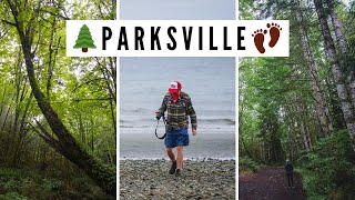PARKSVILLE & QUALICUM BEACH, BC | Visiting Beaches + Provincial Parks on Vancouver Island