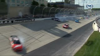 all nascar crashes at dover for may 29th 31st live