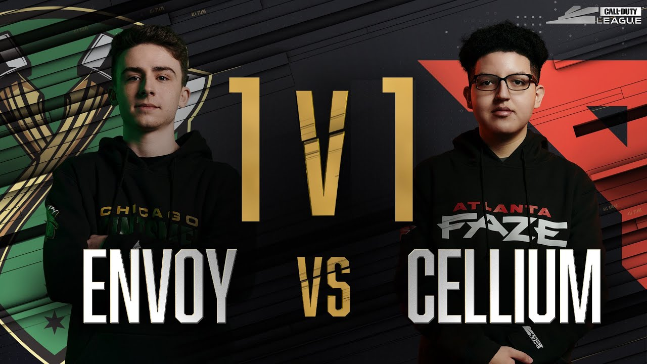 Semi-Final | ENVOY vs CELLIUM — 1v1 Gunfight | All-Star Weekend Day 2