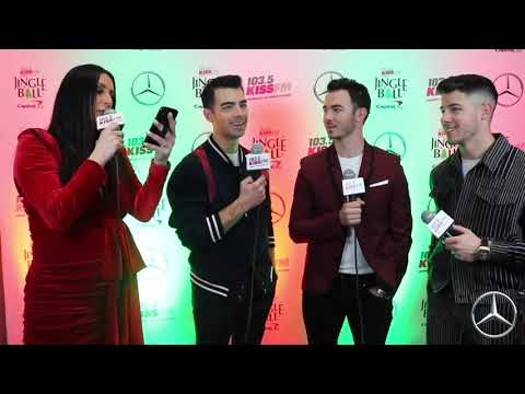 Jingle Ball - Jonas Brothers in the Mercedes Benz Interview Lounge