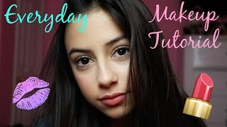 13 Year Old Everyday Makeup Tutorial || Stephanie Cood ♡