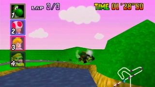 Mario Kart 64 150cc All Cups (Skips) Shortcut Speedrun 25:49 (World Record)