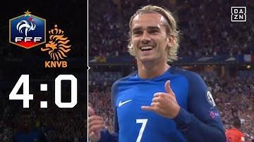 Frankreich deklassiert Elftal: Frankreich - Niederlande 4:0   Highlights   WM-Quali   DAZN