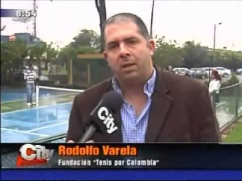 Fundación Tennis por Colombia - City Tv 261112