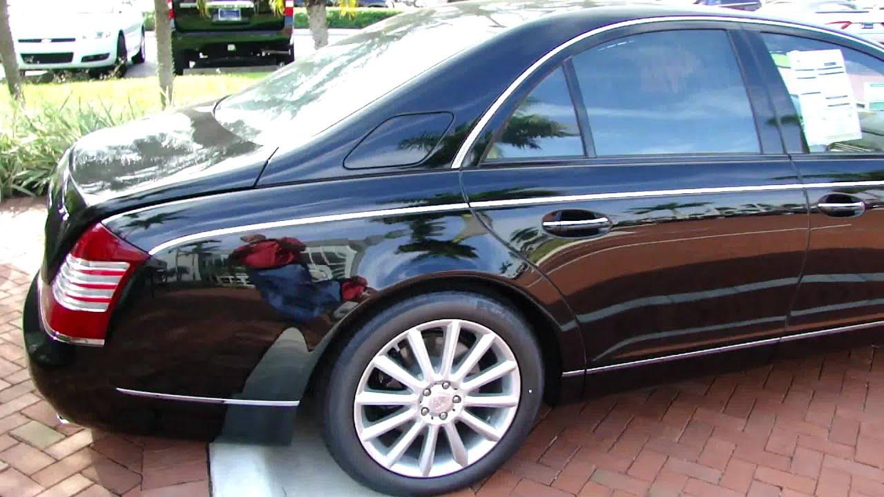 black 2012 maybach 57s