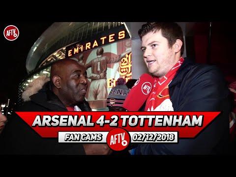 Arsenal 4-2 Tottenham | Aaron Ramsey Was Superb!!