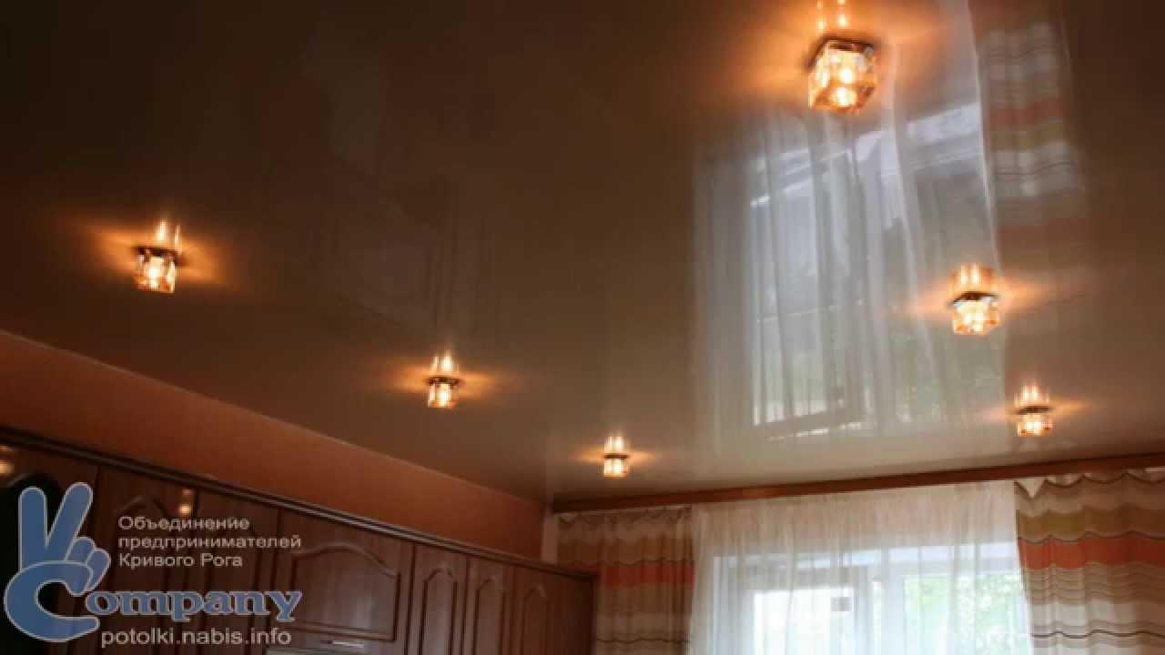 Как сделать точечные светильники на потолок 621