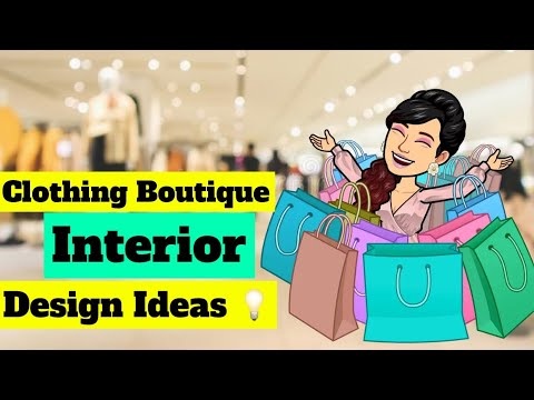 Clothing Boutique Interior Design Ideas - YouTube