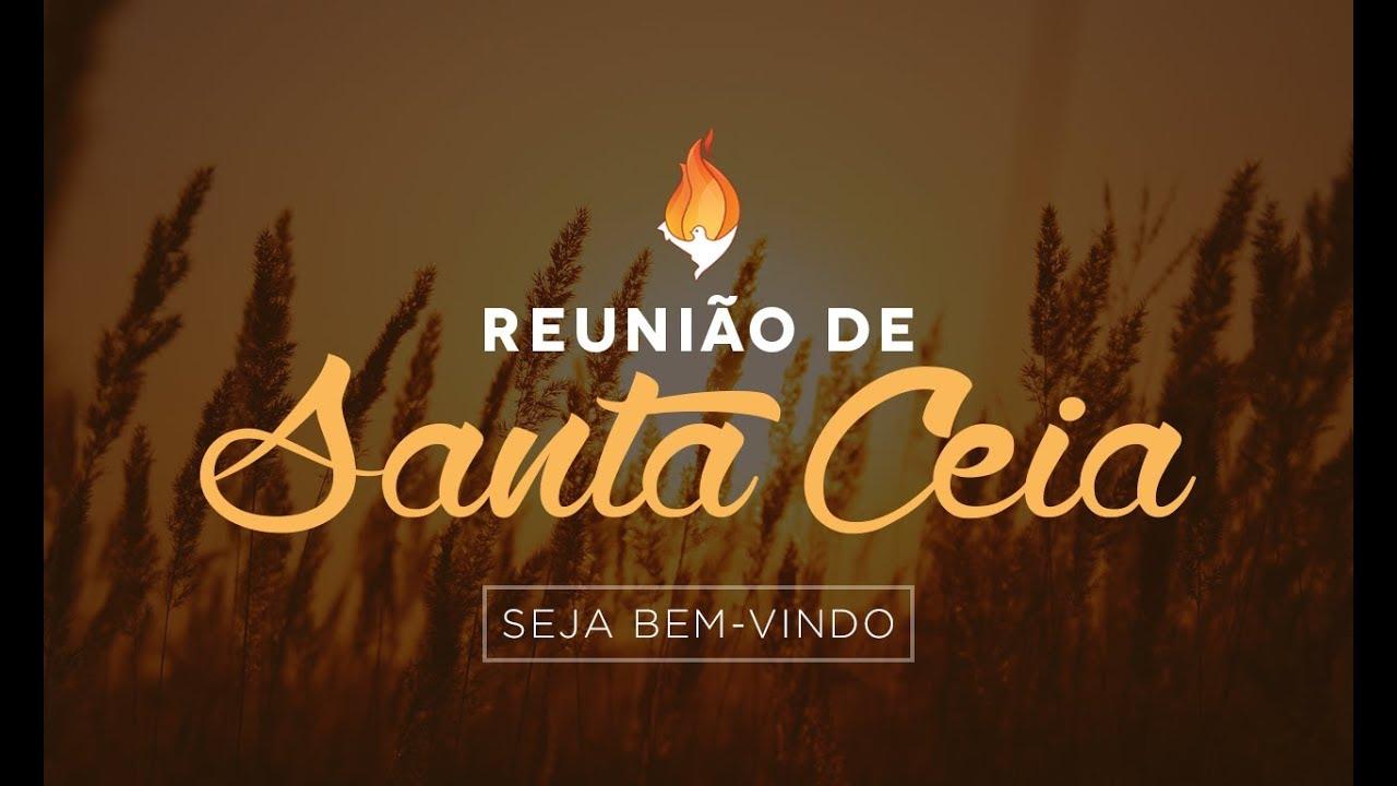 Reunião de Santa Ceia - 02 de Agosto | 2020 #cultoonline