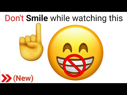 Don't Smile while watching this video.. (Harder)