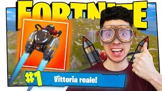 JETPACK VITTORIA REALE EASY (Fortnite ITA Funny Moments Aggiornamento Update)
