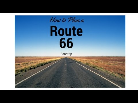 How to plan a Route 66 Road Trip